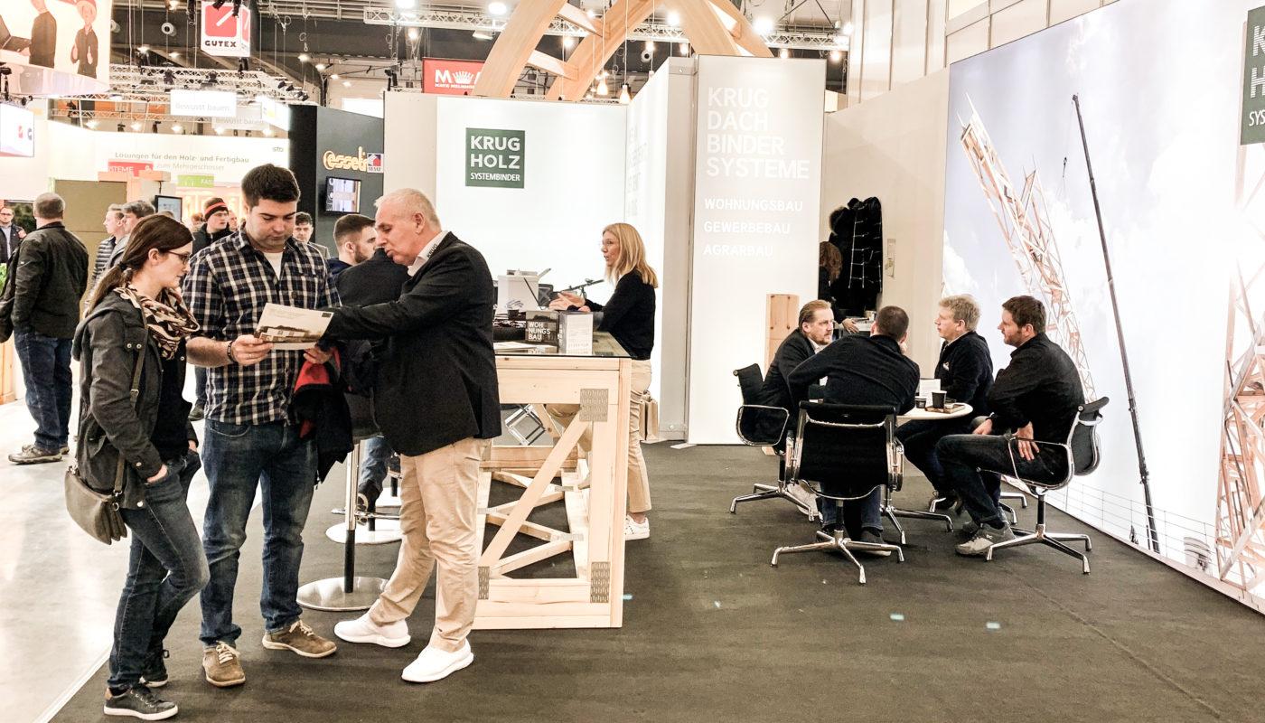 Krug Messe Stuttgart Dach und Holz 2020
